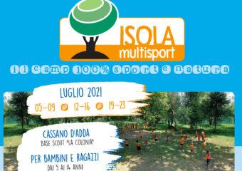 Brochure 2021 : ISOLA MULTISPORT, il camp 100% sport e natura!